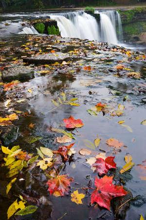 joa: Waterfall in Keila Joa Estonia Stock Photo