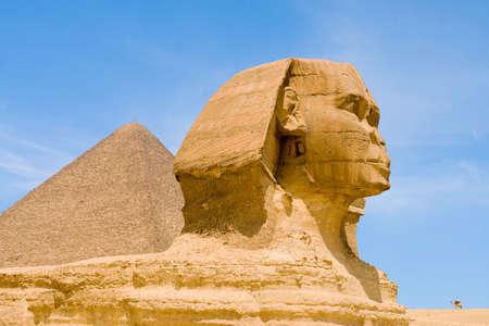 warden: Sphinks en Giza