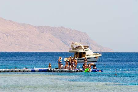 mountin: Beach in the Red sea
