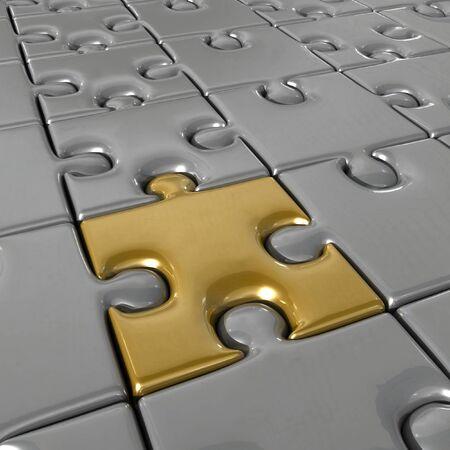 interlocking: Puzzle Stock Photo
