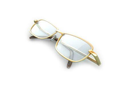 bifocals: Glasses Stock Photo