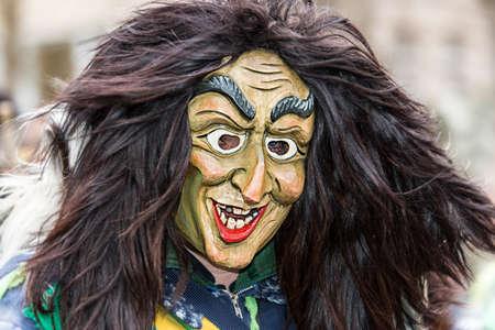 fasnet: Carnival February 9 2016 Schwaebisch Gmuend