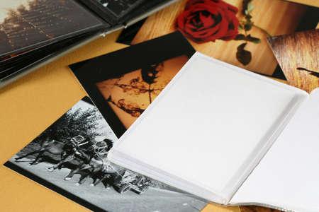 speckle: Photo Album with copy space.