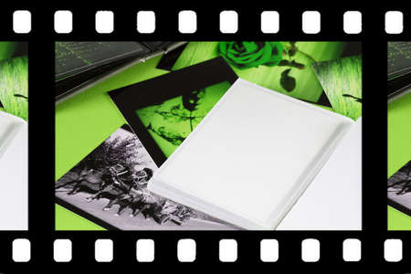 speckle: Photo Album with copy space. Great details! Stock Photo