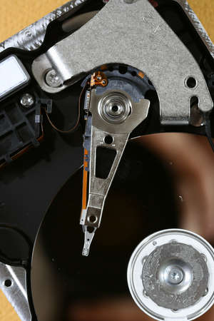 Macro photo - Hard Disk Drive. Great details ! Stock Photo - 4019674