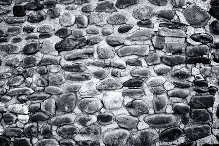 Rock wall, close up.Texture background. Great details. Stock Photo - 4742932