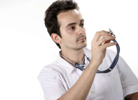 Closeup portrait of a doctor. Stock Photo - 5226891