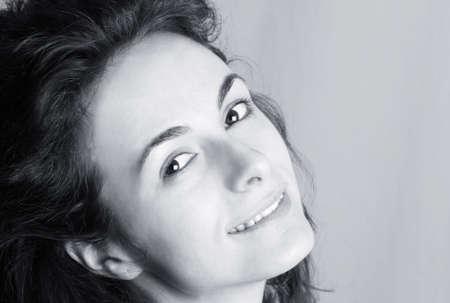 Close-up of a beautiful woman face. Stock Photo - 5442637