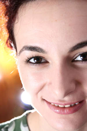 Beautiful face of woman. For more photos with this model fell free to visit my portfolio ! photo