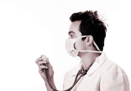 Closeup portrait of a doctor. Stock Photo - 5484671