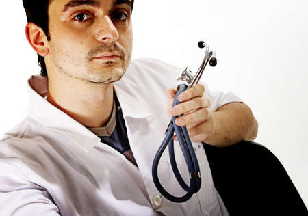 Closeup portrait of a doctor. Stock Photo - 6969609