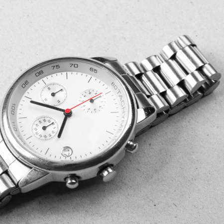 tachymeter: Beautiful Man watch Stock Photo