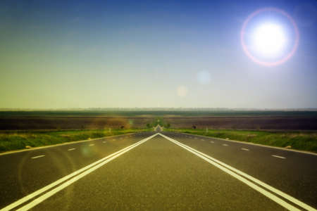 Highway at the bygone Stock Photo - 8003095