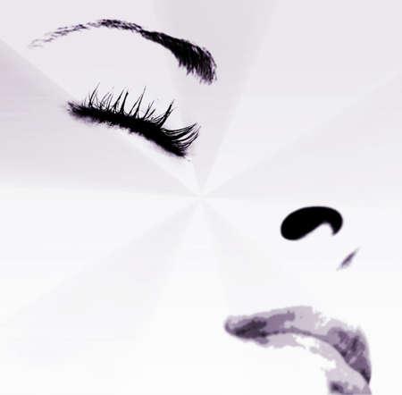 lip shine: Bella girlr - dormire. Close-up