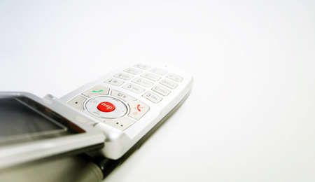 Cell phone isolated on white Stock Photo - 8267675