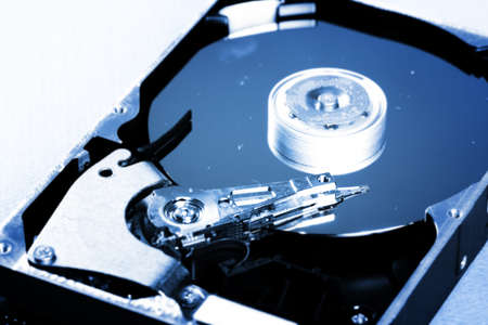 Macro photo - Hard Disk Drive. Great details ! Stock Photo - 8267727