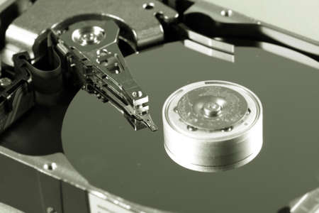 Macro photo - Hard Disk Drive. Great details ! Stock Photo - 8568232