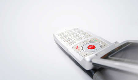 Cell phone isolated on white Stock Photo - 8974542