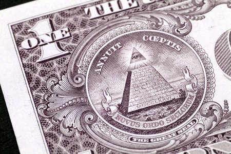 Macro image of a dollar Stock Photo - 10127040