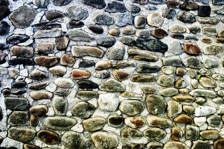 Rock wall, close up.Texture background. Great details. Stock Photo - 14292244