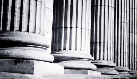 financial official: Close-up of a bright classical pillar