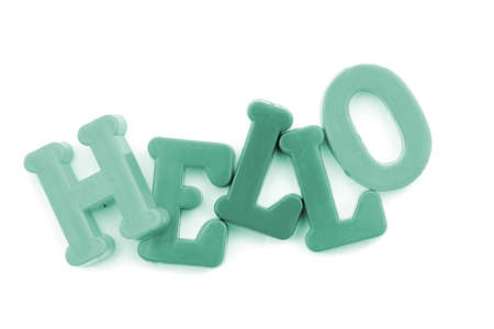 hey: Close-up of letters. More from this series on my portfolio. Another series are also available!