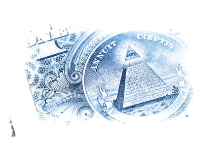 Macro image of a dollar photo