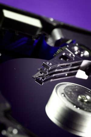 databank: Macro photo - Hard Disk Drive. Great details !