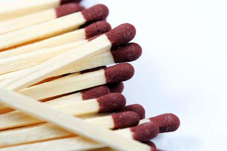 firestarter: Match isolated on white