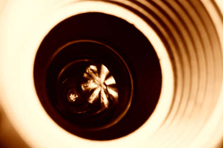 Close-up picture of a web camera. photo