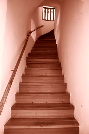 hause: Staircase in a modern hause.