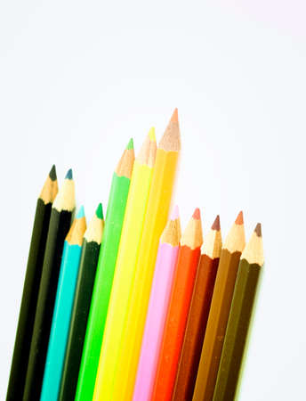 very good: Close-up pencil. Very good details and colors. Stock Photo