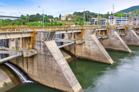 Velle dam hydroelectric power station in Ourense