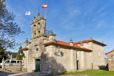 San Esteban of Cabeiras church in Arbo