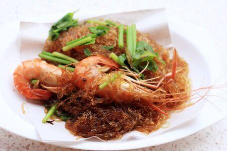 vermicelli: Shrimp vermicelli