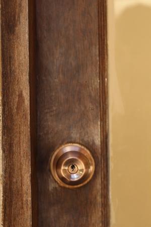 knob: Aluminum door knob