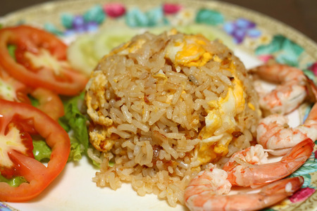 repast: Fried rice with seafood,Thai Fried rice