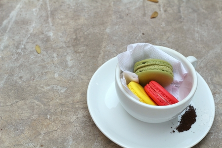 macaroon: colourful macaroon Stock Photo
