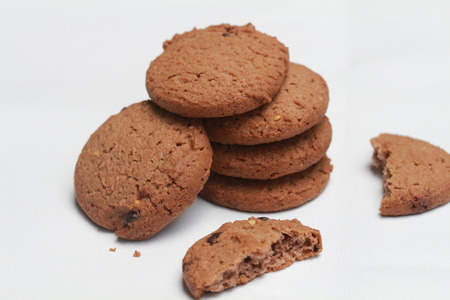 chocolate chips cookies: chocolate chip cookies and almond cookies