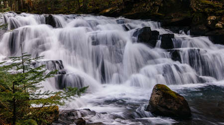 Mackintosh Falls - North Cascades, Washington.