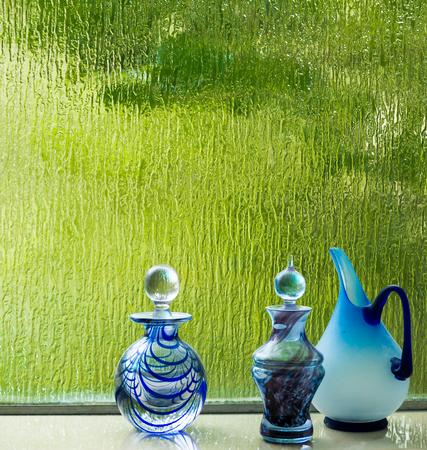 Blue Glass Banco de Imagens