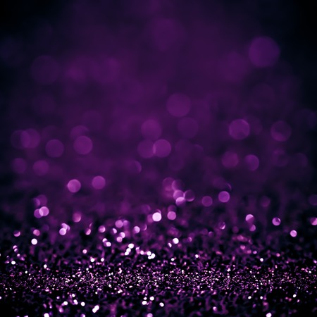 Lights on white purple background abstract beautiful blink light with bokeh bright winter and christmas decoration design blur backdrop luxury Stock Photo