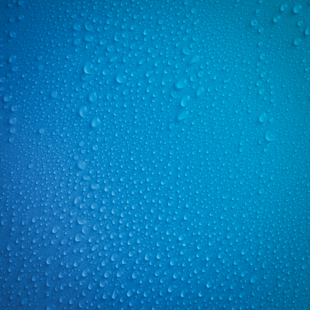 Transparent water drop or Raindrops Or Vapor flowing on solid backgrounds Stock Photo