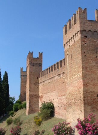 Castle towers photo