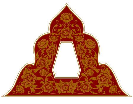ornament frame: Thai Ornament Frame