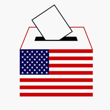 vote label: American vote, vote label