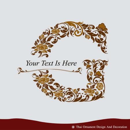 Vector de G de la letra en el estilo de época antigua. ABC Tipo de concepto como icono. Diseño de la tipografía