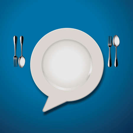 marks: Vector of Quotation Marks Speech Plate Icon Illustration