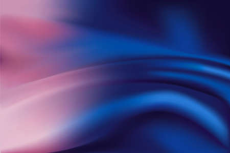 silky velvet: Vector of Purple and blue silk fabric abstract background