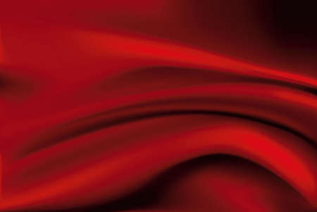 Vector of Red silk fabric background Vector